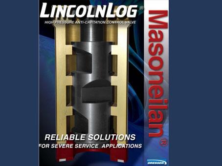 高抗气蚀调节阀LincolnLog