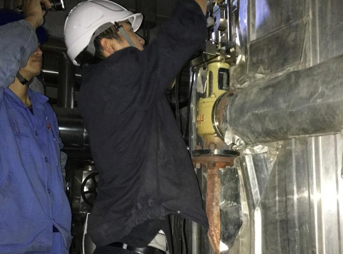 中电建甘肃某能源发电有限公司2×170WM机组安全阀校验维修