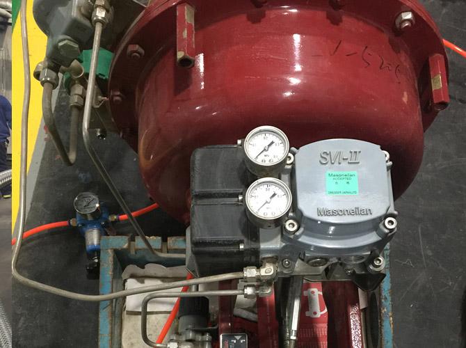 化工厂BDO装置Masoneilan高压角阀成功修复