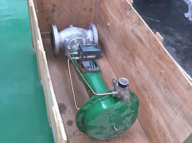 化工厂FISHER 波纹管调节阀成功修复