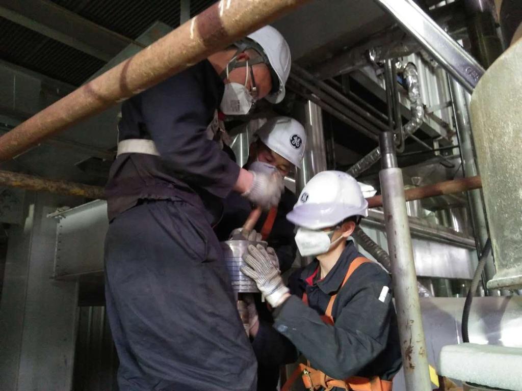 神木某电石厂1*150WM自备电厂锅炉安全阀检修校验